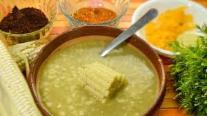 receta de atole de grano
