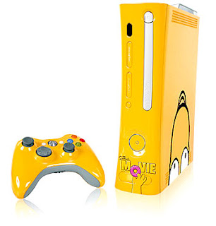 xbox 360 amarelo simpsons