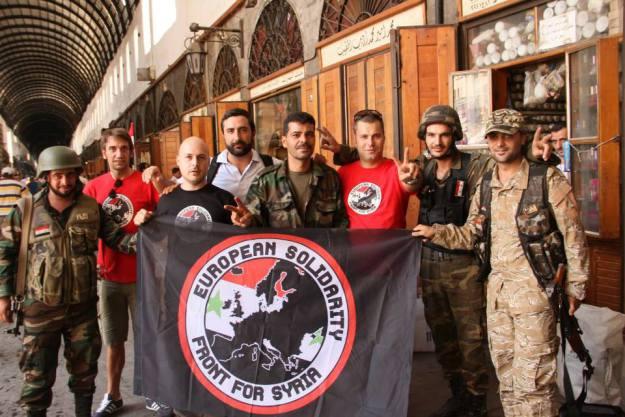 Το Ευρωπαϊκό Μέτωπο Αλληλεγγύης για τη Συρία