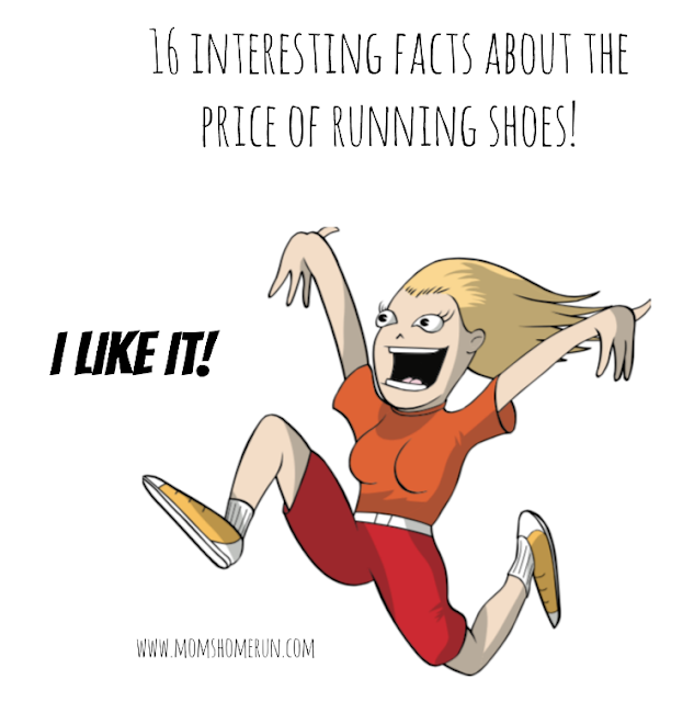 price of running shoes