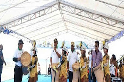 Abdul Faris Umlati Bula Festival Geopark Raja Ampat