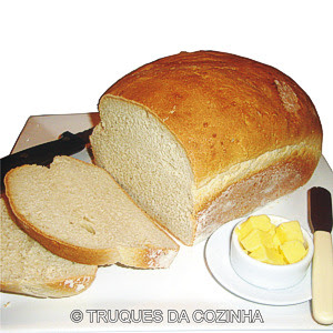 Receita Massa Pão Caseiro Simples