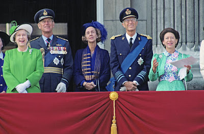 Résultat d'images pour roi Albert II à Londres