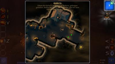 Eternium - Karte unterwegs