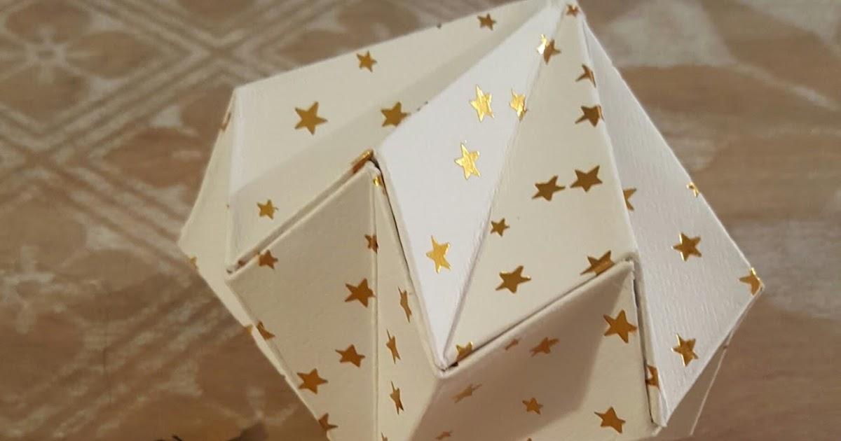 la sourici re diy 1 d co origami. Black Bedroom Furniture Sets. Home Design Ideas