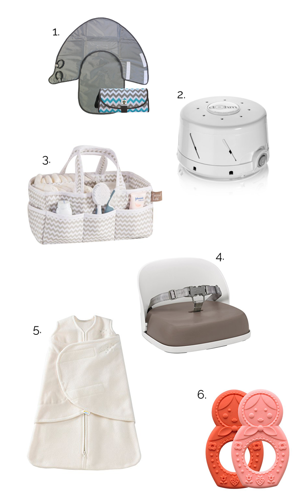 Baby items every mother needs.