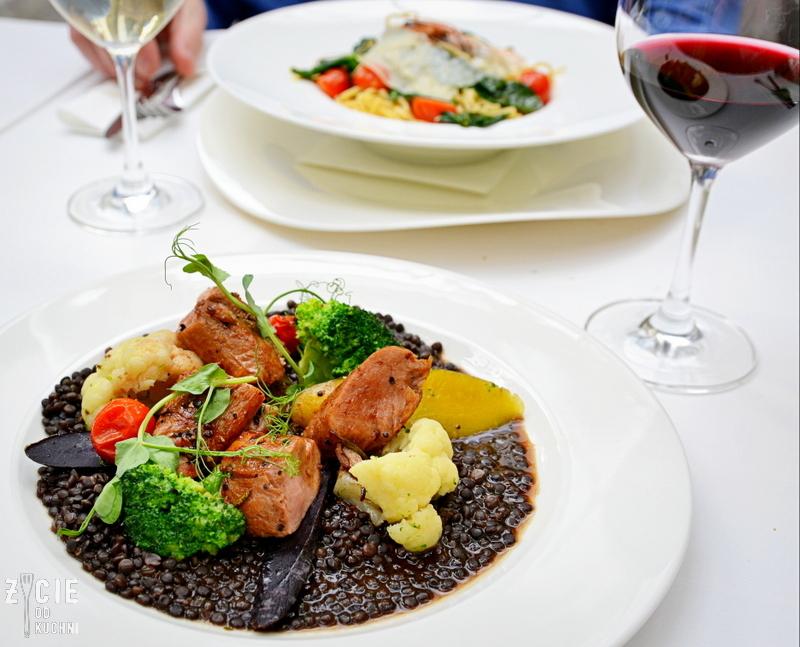 linquine ai gamberi, wloska restauracja w krakowie, gdzie zjesc w krakowie, marcelino chleb i wino, oranzeria, zarna soczewica, restauracja krakow, projekt jana 16, zycie od kuchni