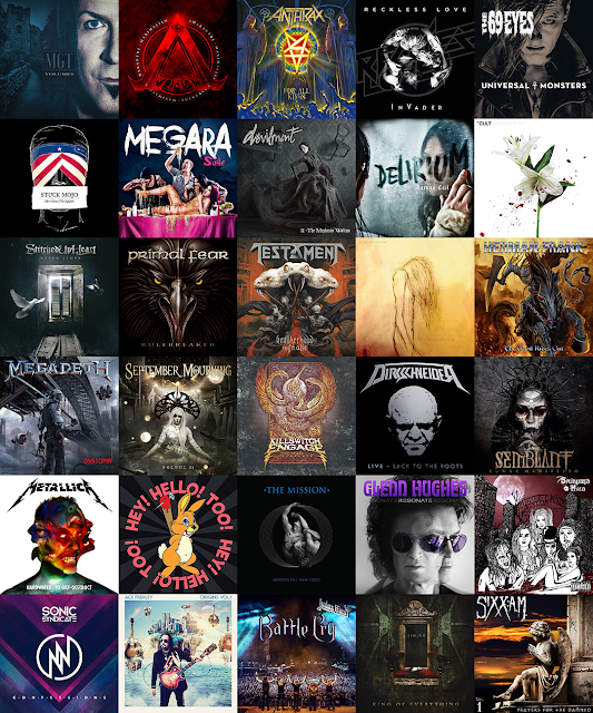 Best Rock / Metal Albums Of 2016