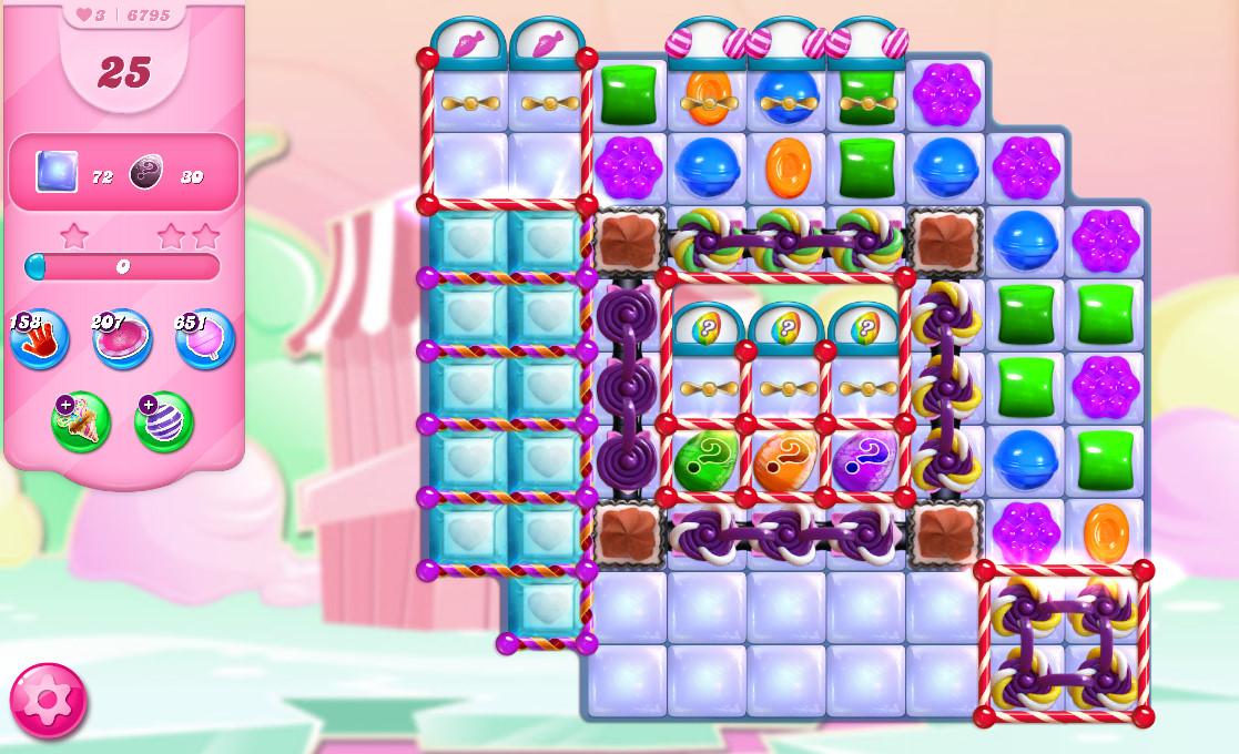 Candy Crush Saga level 6795