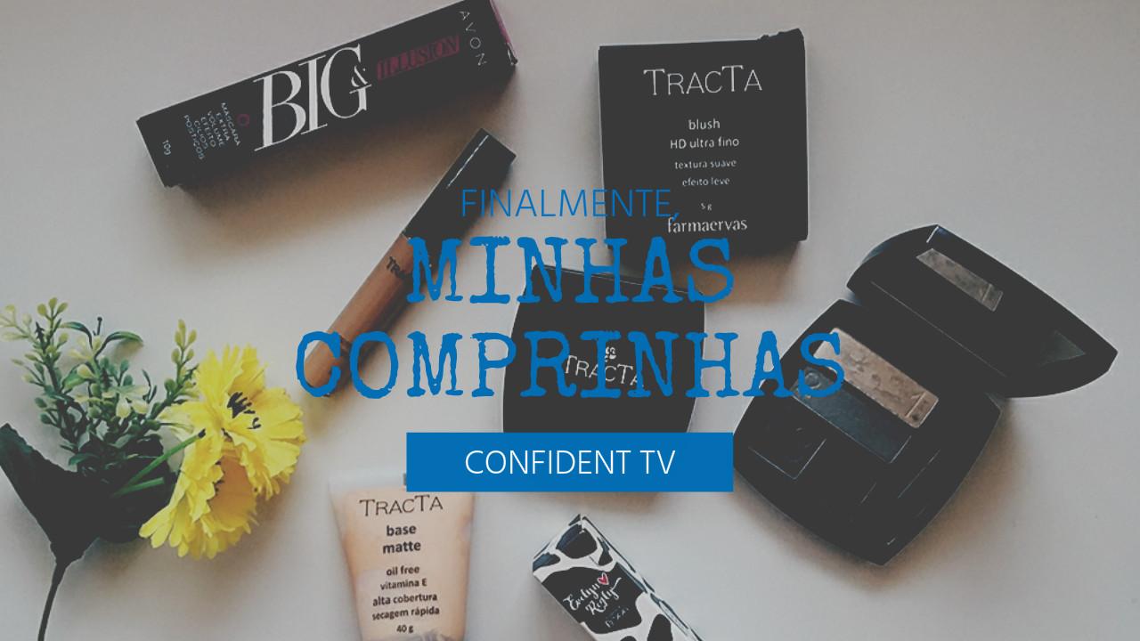 Comprinhas |  Novembro/16 | BLOG CONFIDENT