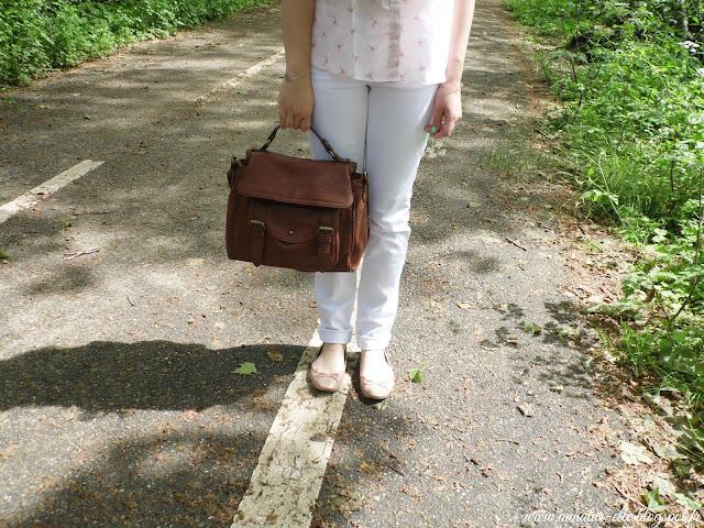 Pantalon blanc Camaieu