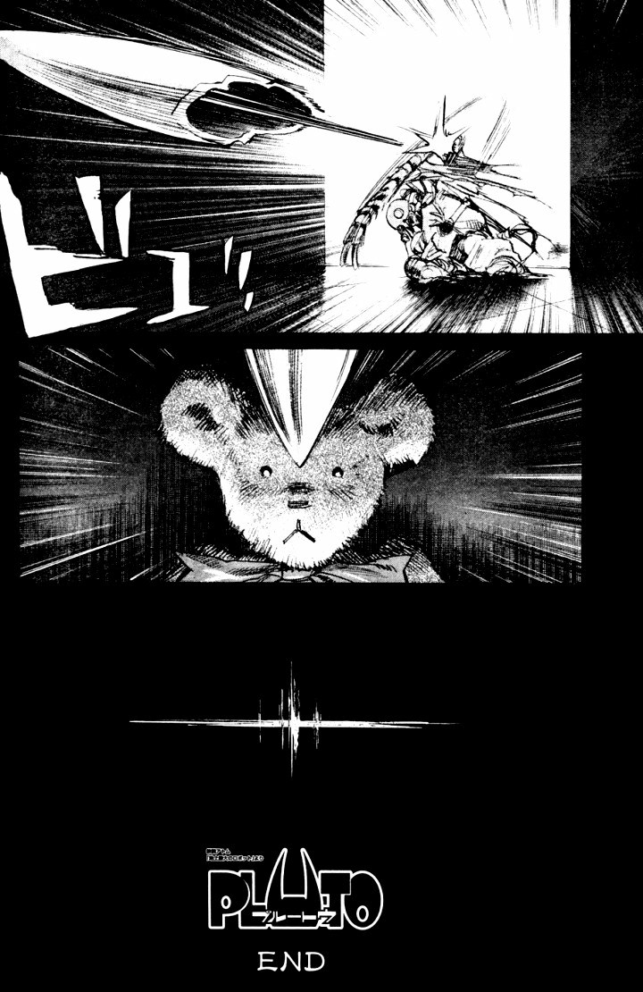 Page 29, Act 65: World's Strongest Robot from Naoki Urasawa's Pluto Volume 8