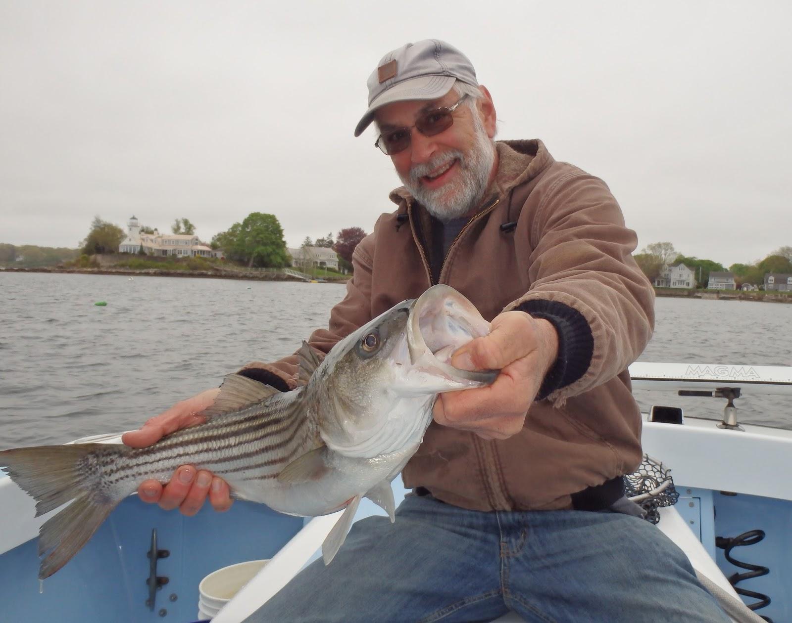 No fluke fishing for Land big fish