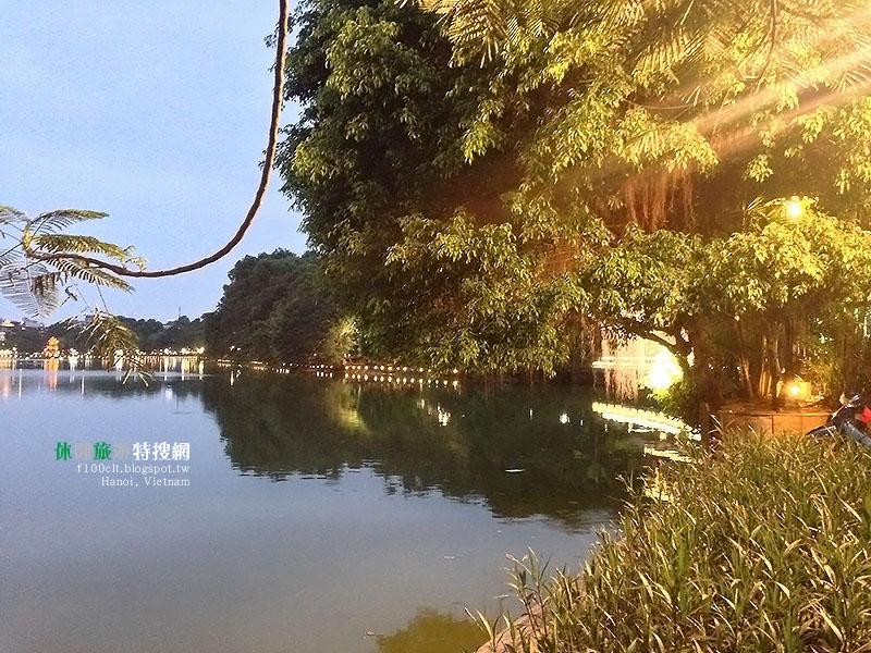 [越南.河內] 老城區內還劍湖 老巷弄內蛋咖啡好新奇