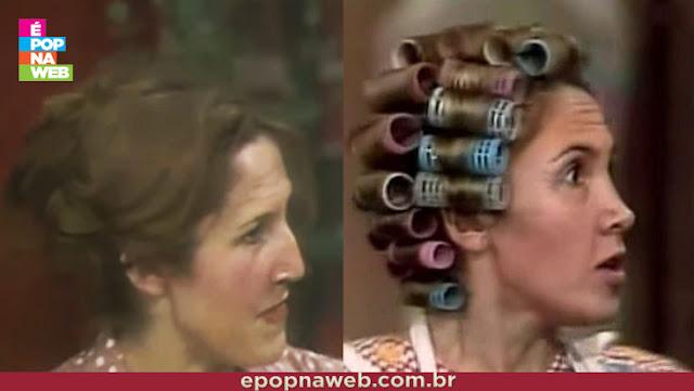 O nariz da atriz