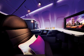 Virgin Australia Business Class seat