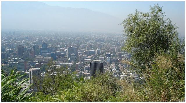 Cerro San Cristoban, Santiago