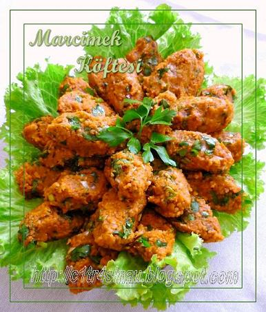 Mercimek Köftesi (Red lentil balls) | Çitra's Home Diary. #vegetarian #turkishfoodrecipe #vegankofta #veganrecipe #lentilkofta