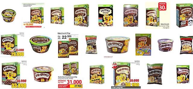 Daftar Harga Koko Krunch Nestle