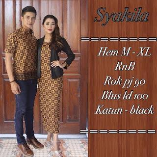 Indahnya Ragam Padu Padan Batik Sarimbit
