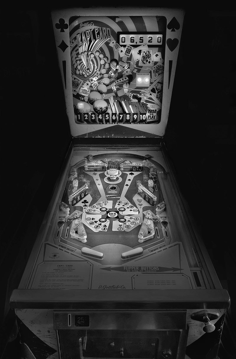 michael pinball machine
