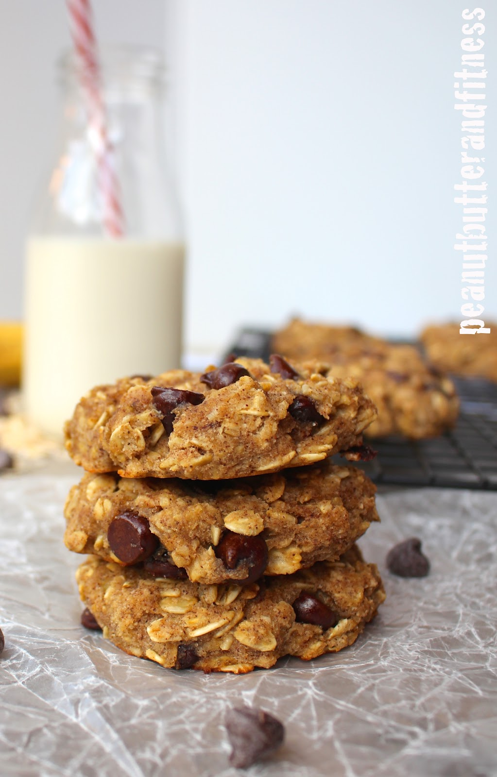 Oatmeal Chocolate Chip Protein Cookies Peanut Butter And
