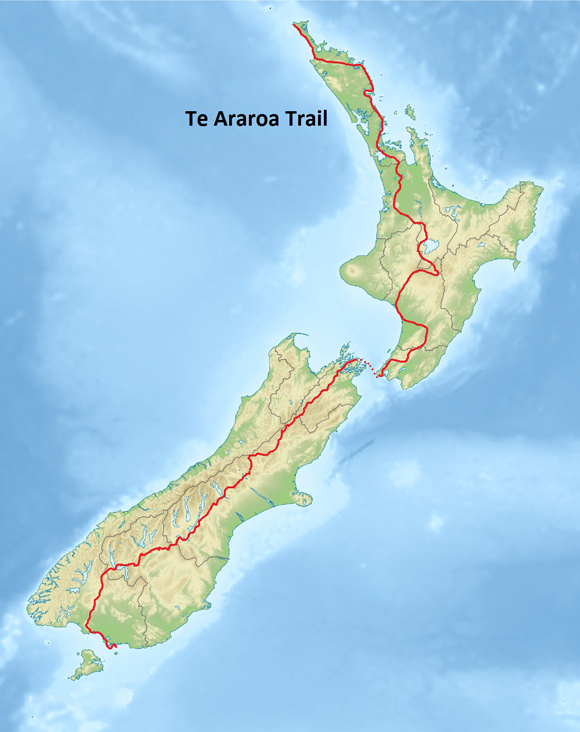trampsouth Trail Tales from Te Araroa in New Zealand: What