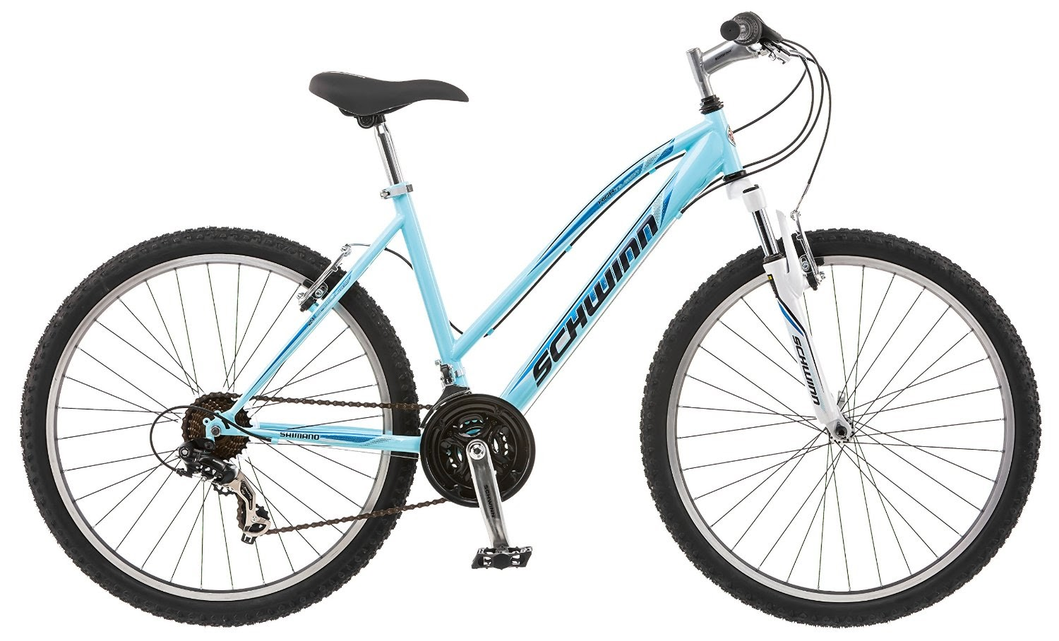 df6b92e1fa7 Schwinn Women's High Timber Mountain Bike in Blue (16