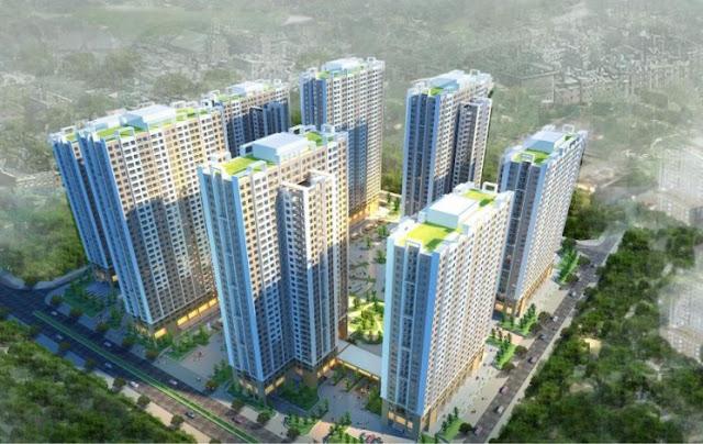 Phối cảnh dự án chung cư căn hộ cao cấp An Bình City