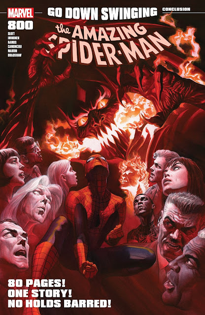 Review: Amazing Spider-Man #800 Was Totally Worth The Wait