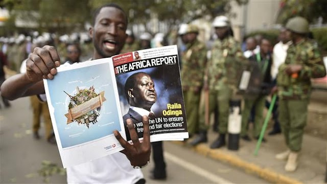 Kenyan government bans demonstrations against presidential re-run in three major city centers