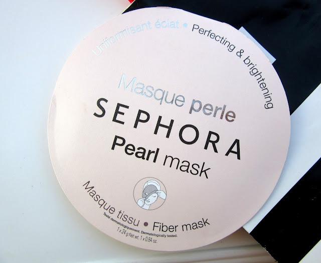 Haul from Sephora Bangalore   Sephora Pearl Sheet Mask