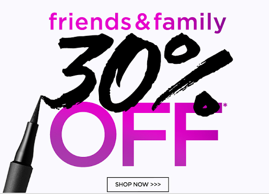 Tarte Friends and Family Sale 30% off everything!!