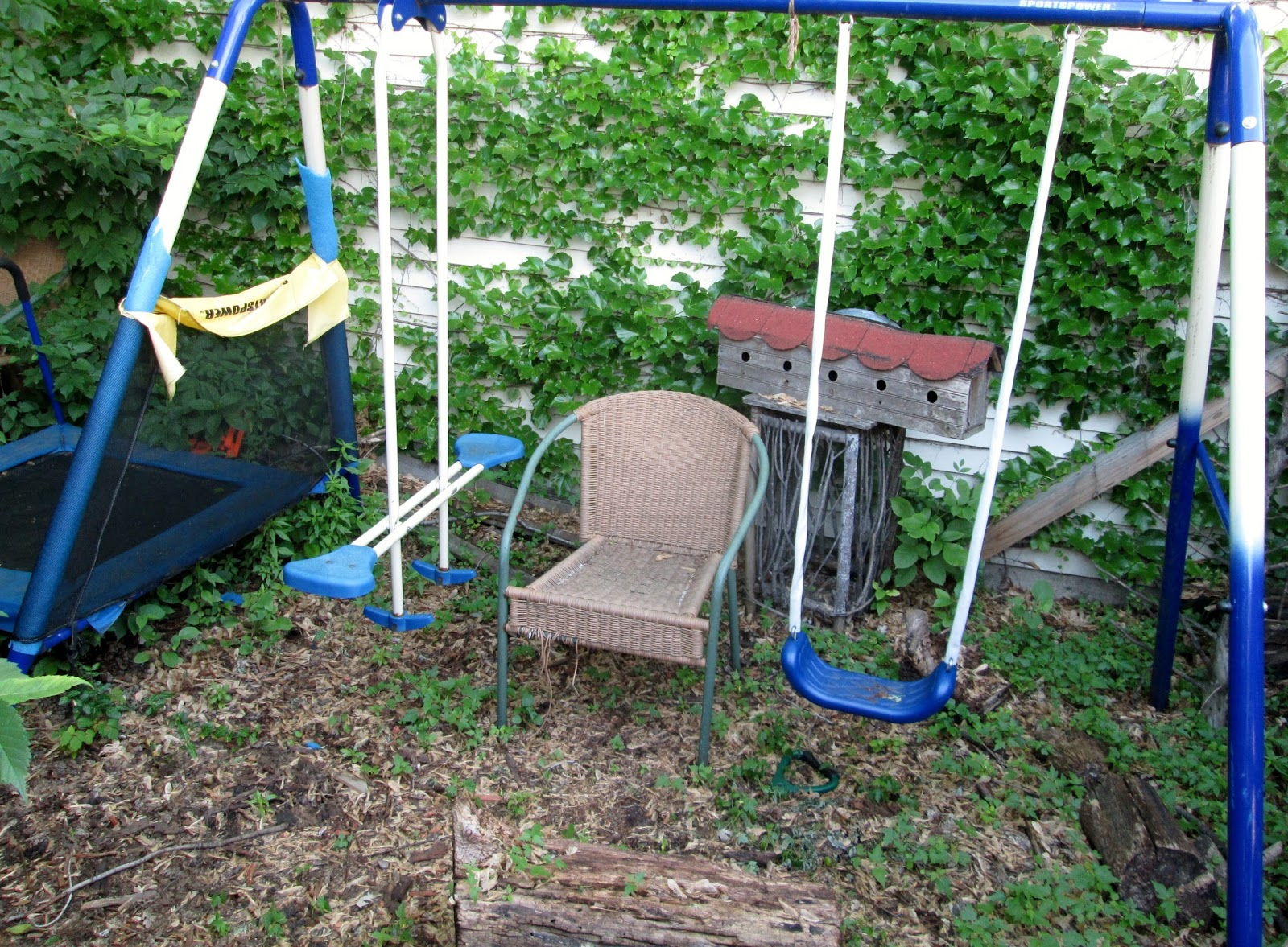 Small World Land Turn Your Old Swing Set Into A Play Fort