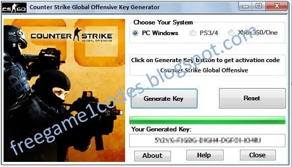 license key for cs go