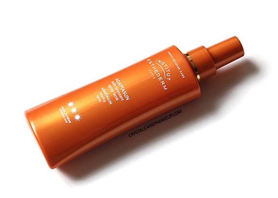 Institut Esthederm Sunscreen Adaptasun Tanning Spray Review
