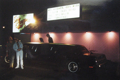 The guys arriving at the show... October 31, 1990