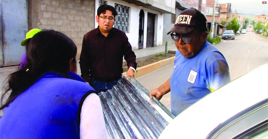 MDT apoya a damnificados del AA.HH. La Victoria