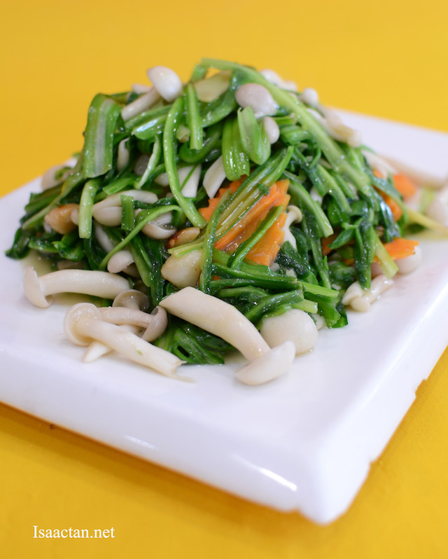 Green Dragon Vegetables with Mushroom