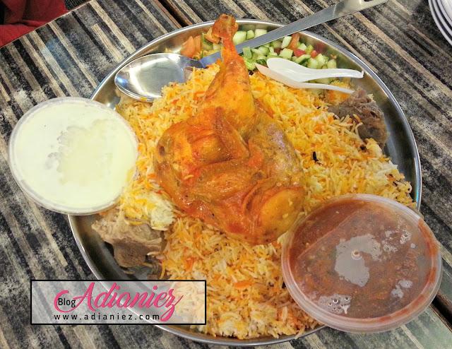 Nasi Arab Damsyik, Senawang