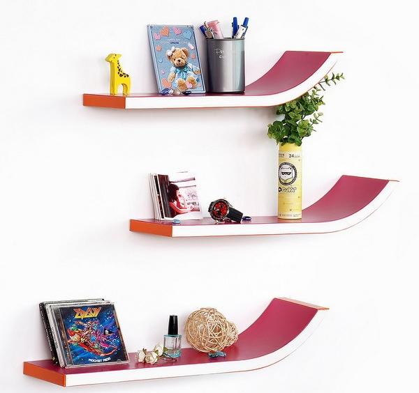 Desain Rak Buku Dinding Gantung Gambar Rumah Idaman