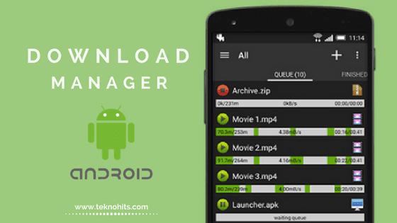 Internet Download Manager Terbaik untuk Android