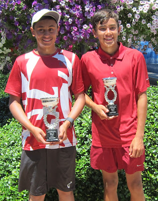 Chaudhary, Willy earn Sectional 14 singles titles