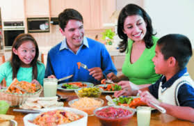 Benefits of Family Meal - Facts And Information Value Of Family Meals