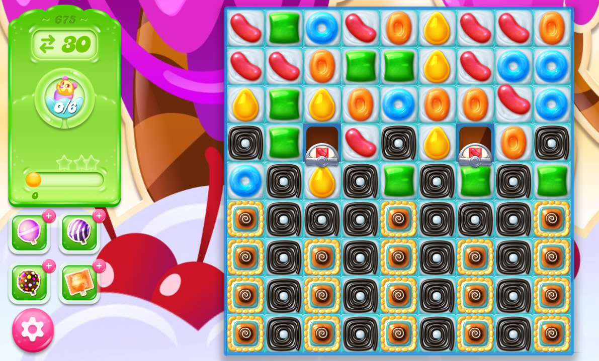 Candy Crush Jelly Saga level 675