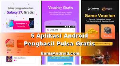 Aplikasi Penghasil Pulsa dan Voucher Belanja