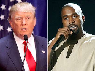 Kanye west declared his support for donal trump
