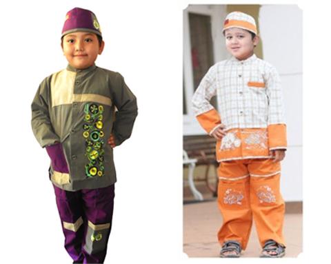 busana muslim anak laki laki