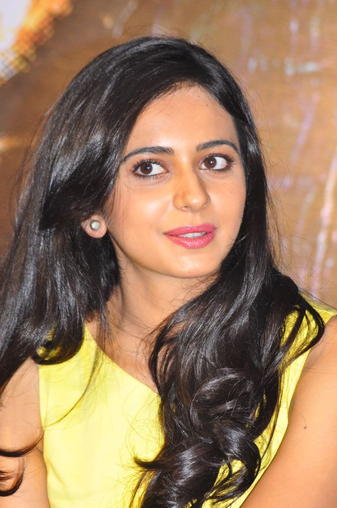 Rakul Preet Photo Shoot In Beautiful Yellow Dress