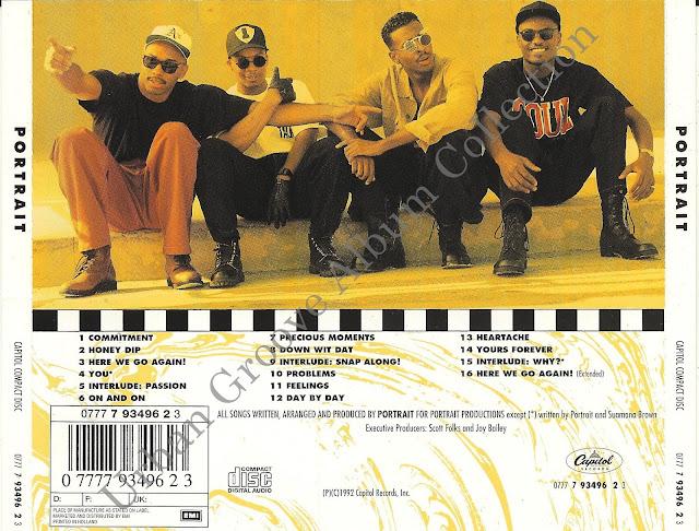 Portrait Portrait 1992 R Amp B Group Urban Groove Album